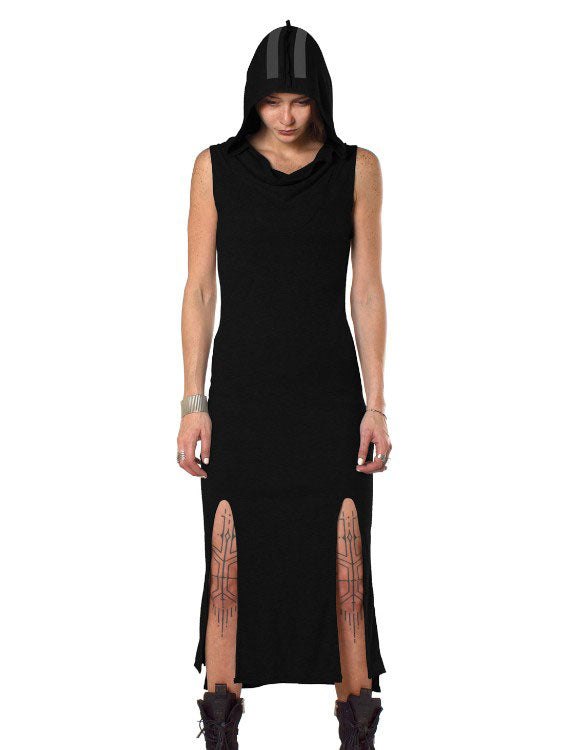 Dion Hoodie Long Dress