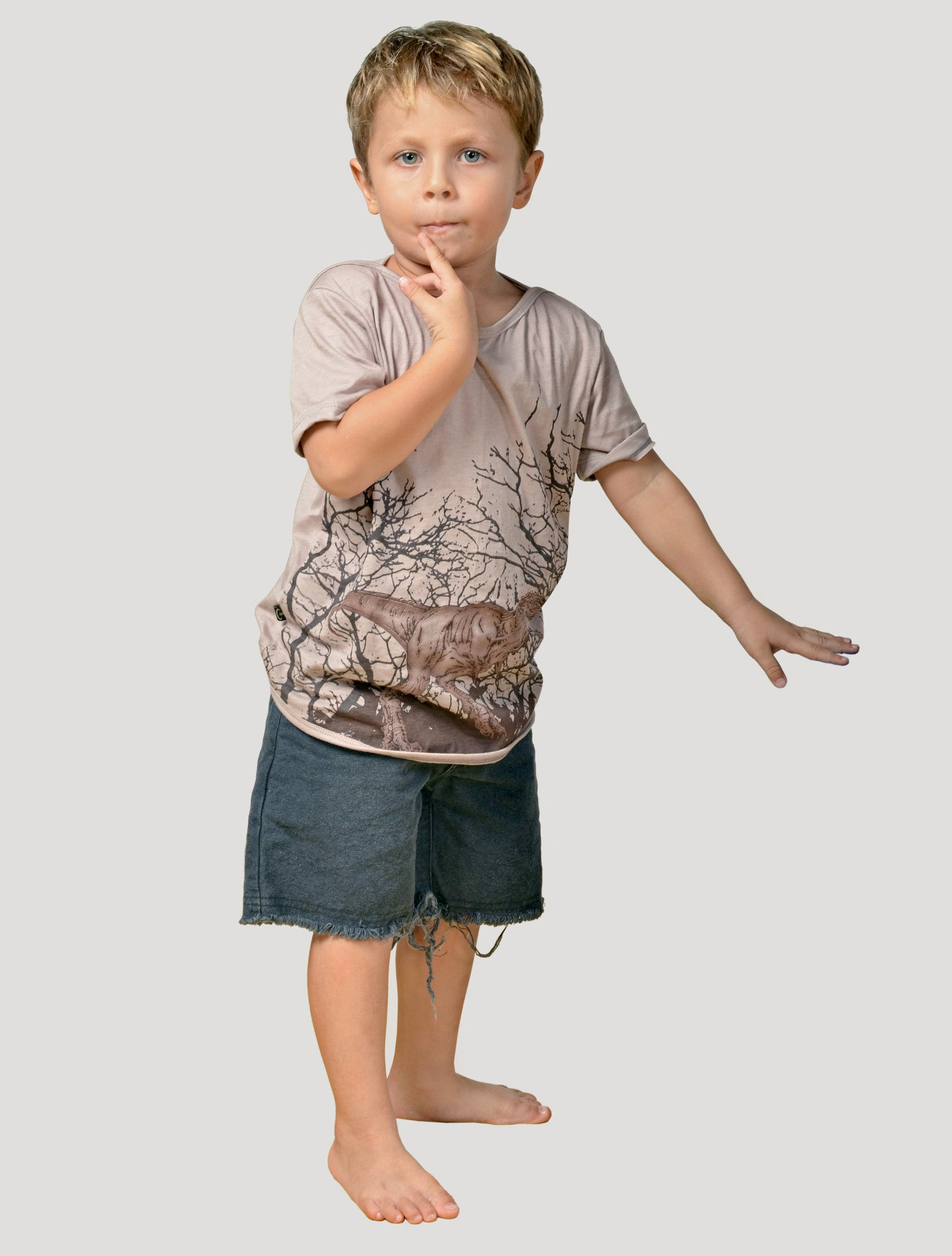Rex Short Sleeves Top (Kids)