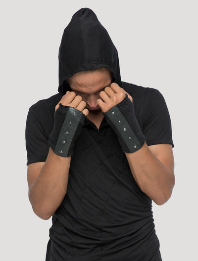 Ribbed Vmix Gloves