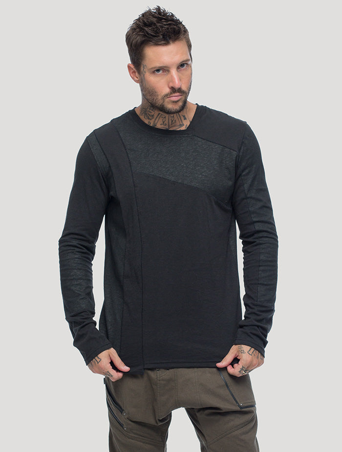 Shade Long Sleeves Tee - Psylo Fashion