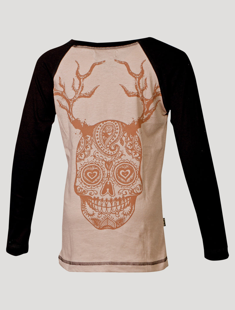 Skull Long Sleeves Top (Kids)