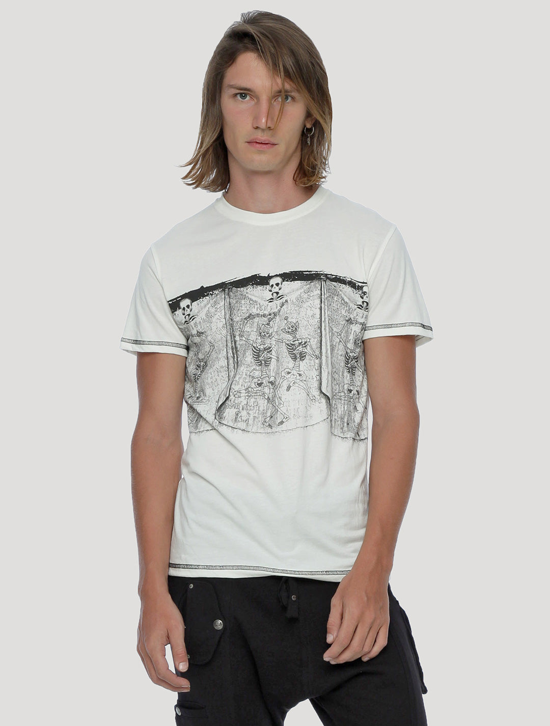 Skeleton Short Sleeves Tee