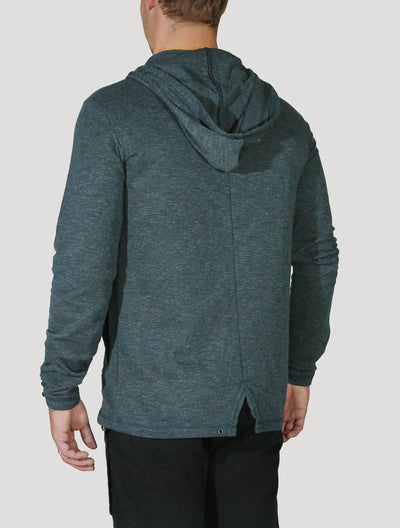 Split Hoodie Light Jacket