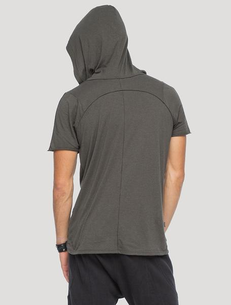 Shelter' Short Sleeves Hoodie Tee