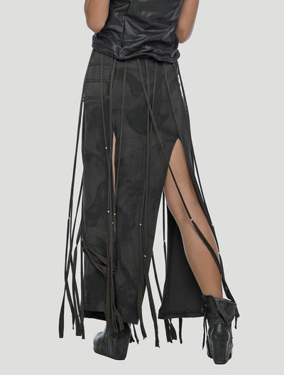 Splice Fringed Belt