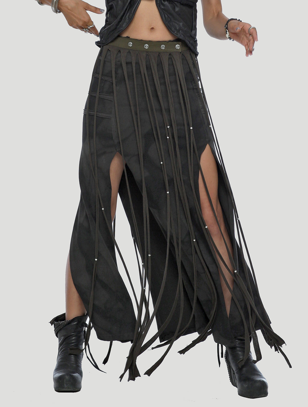 Splice Fringe Belt