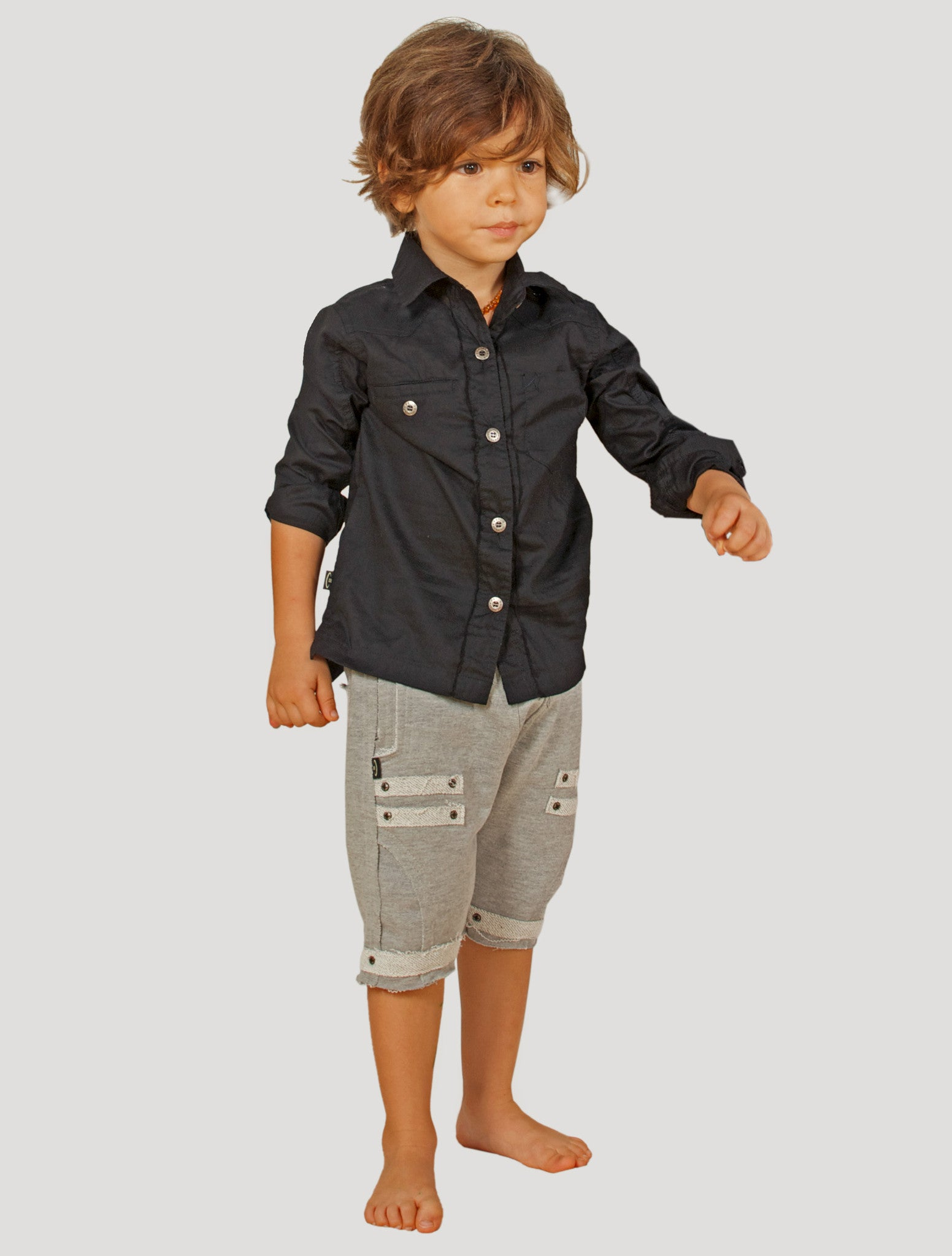 Sufi Long Sleeves Shirt (Kids)