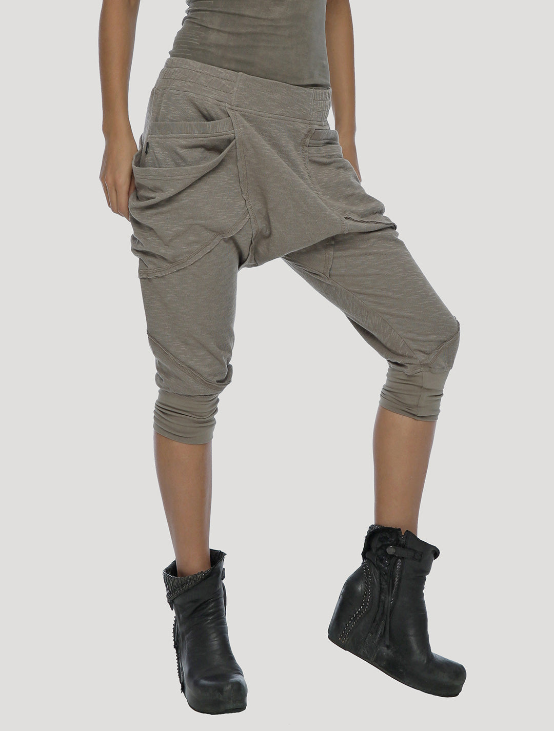 Psylo Fashion ethical alternative streetwear Twisted 3/4 Pants