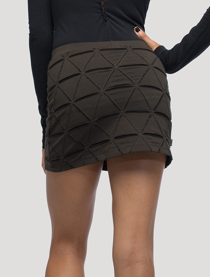 Tangled Mini Skirt - Psylo Fashion
