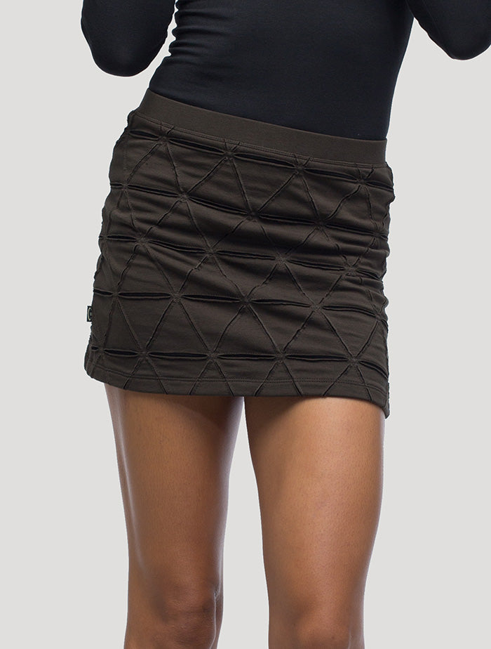 Tangled Mini Skirt