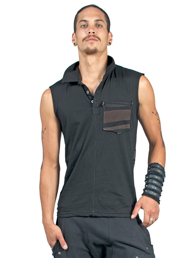 Tribal Polo Sleeveless Tee