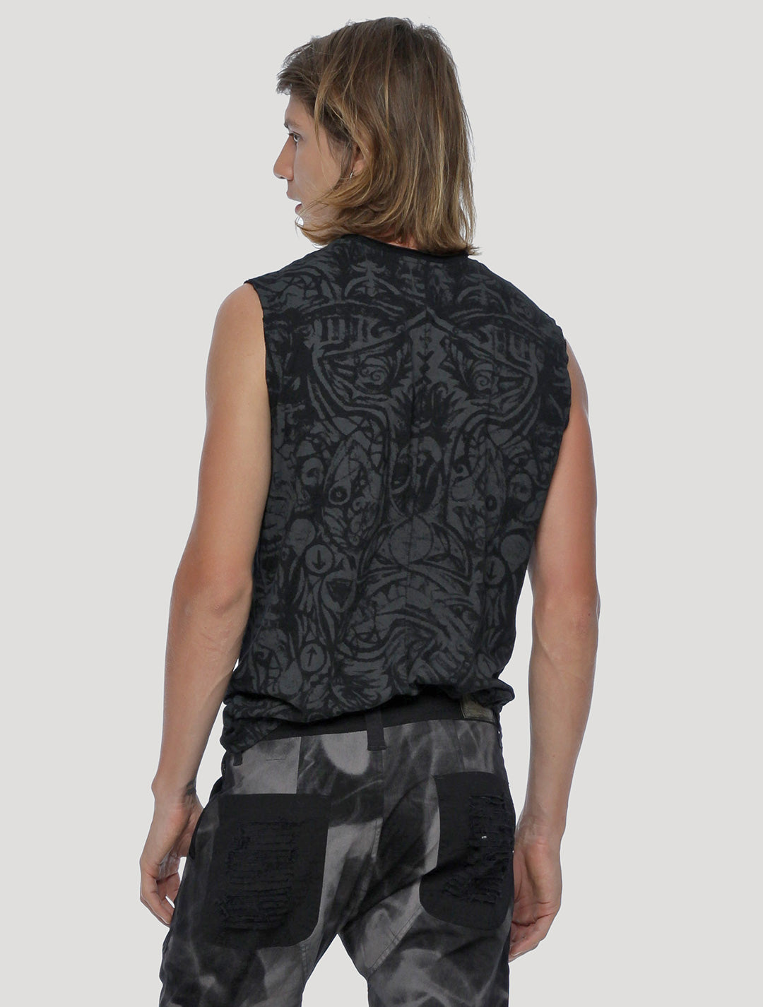 Warrior Sleeveless Tee - Psylo Fashion