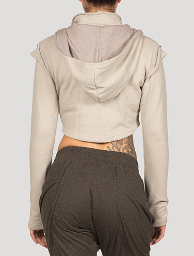 XB Crop Hooded Jacket