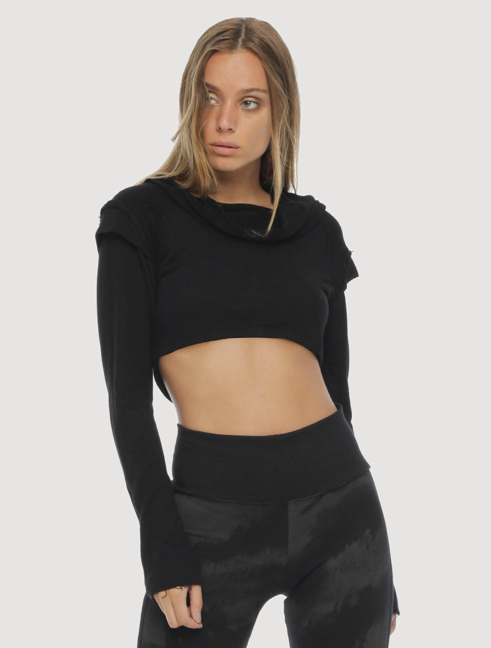 XB Rmx Crop Sweater