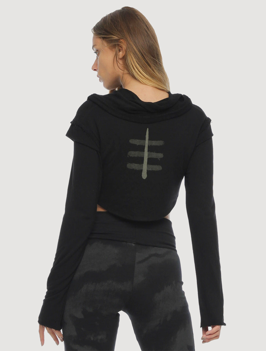 XB Rmx Crop Sweater - Psylo Fashion