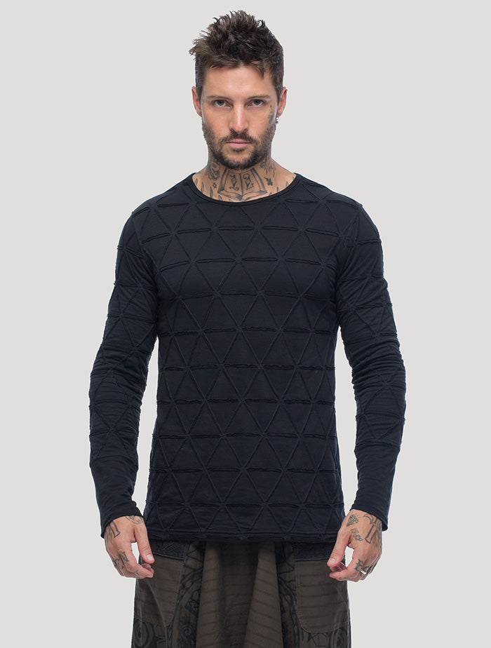 Zentangle Long Sleeves Tee