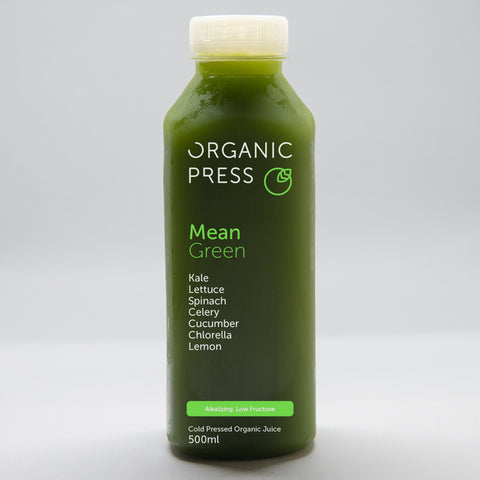 Organic Press Mean Green