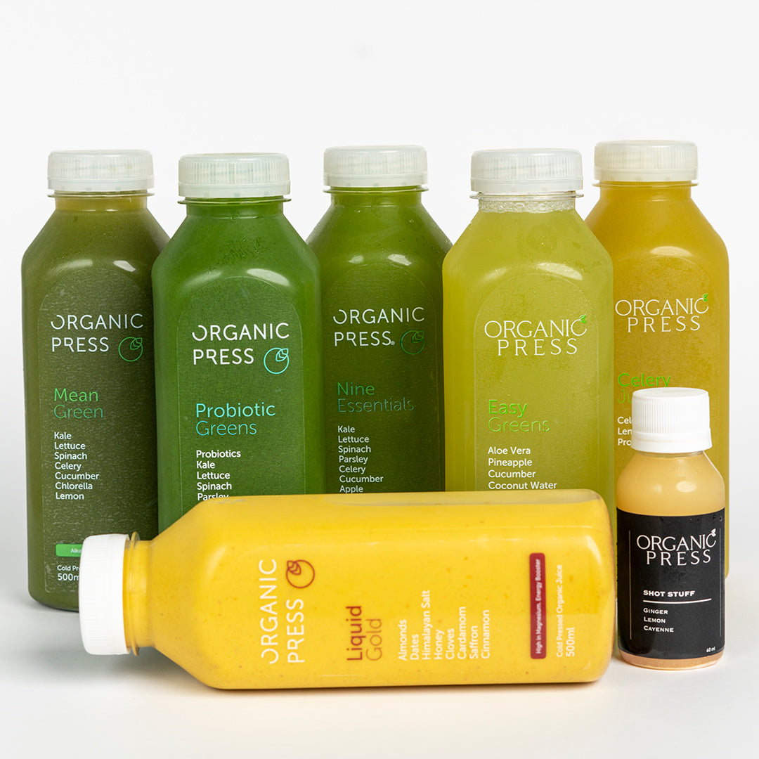 Expert Cleanse (6 Juices & 1 Shot)