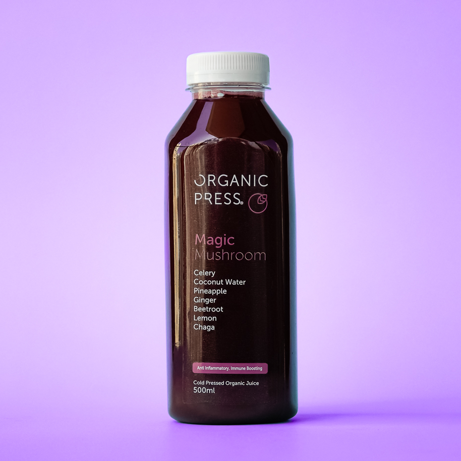 Bee-Beautiful: Pineapple, Ginger, Turmeric, Orange, Lemon, Bee Pollen & MSM (500ml)