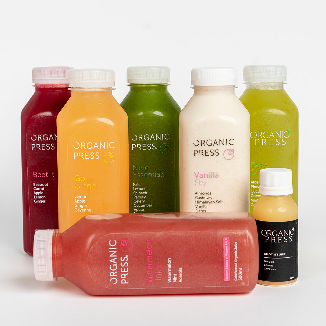 Beginners Cleanse (6 Juices & 1 Shot)