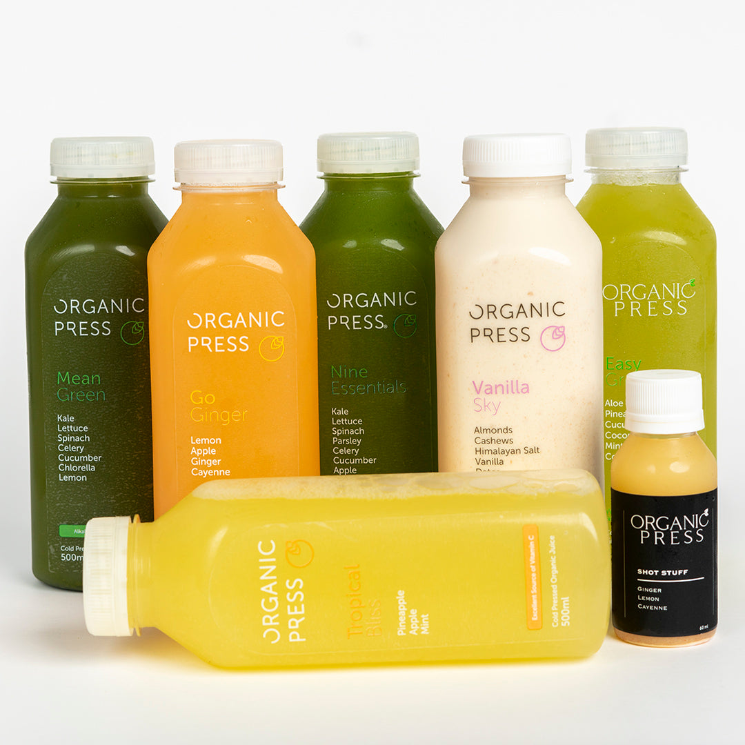 MOST POPULAR! Intermediate Cleanse (6 Juices & 1 Shot)