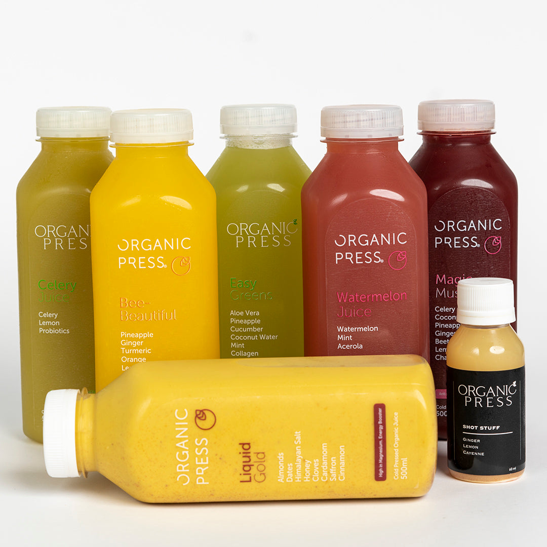 LIMITED EDITION: The Christmas Cleanse (6 Juices & 1 Shot)