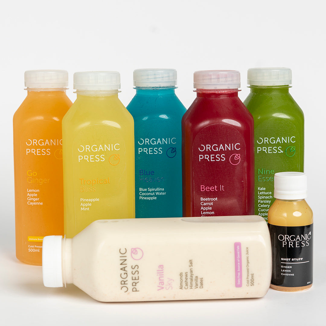 Beauty Pack (6 Juices & 1 Shot)