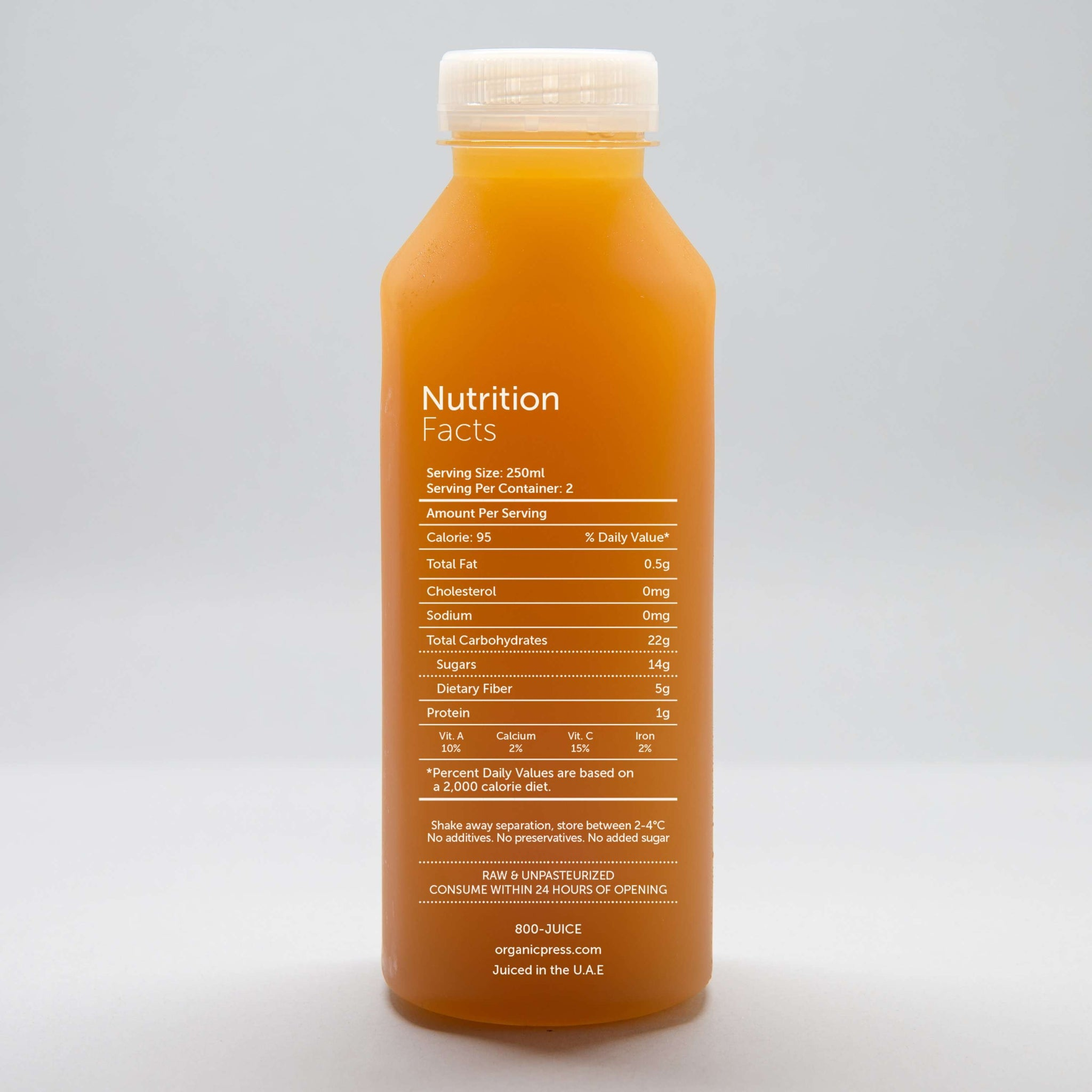 Go Ginger: Lemon, Apple, Ginger & Cayenne (500ml)