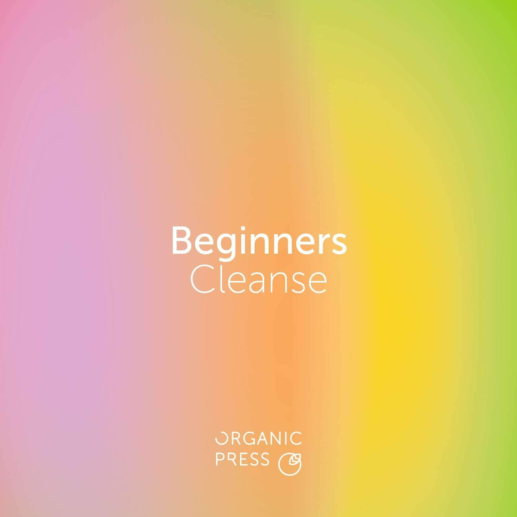 Beginners Cleanse (6 Juices)