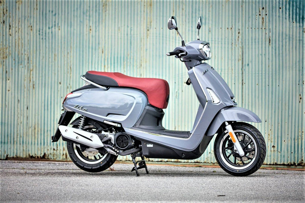Kymco Like 150 ABS, New Digital Dash.
