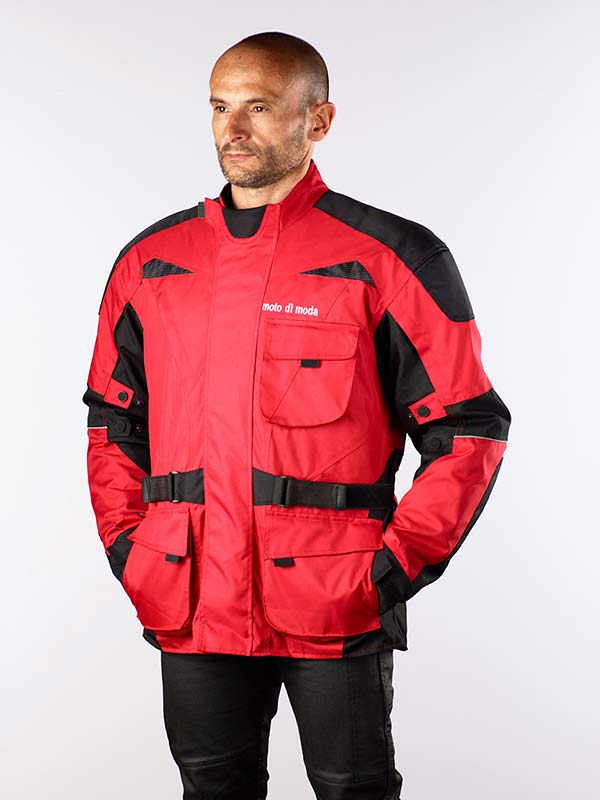 MOTO DI MODA AVVENTURA TOURER RED JACKET