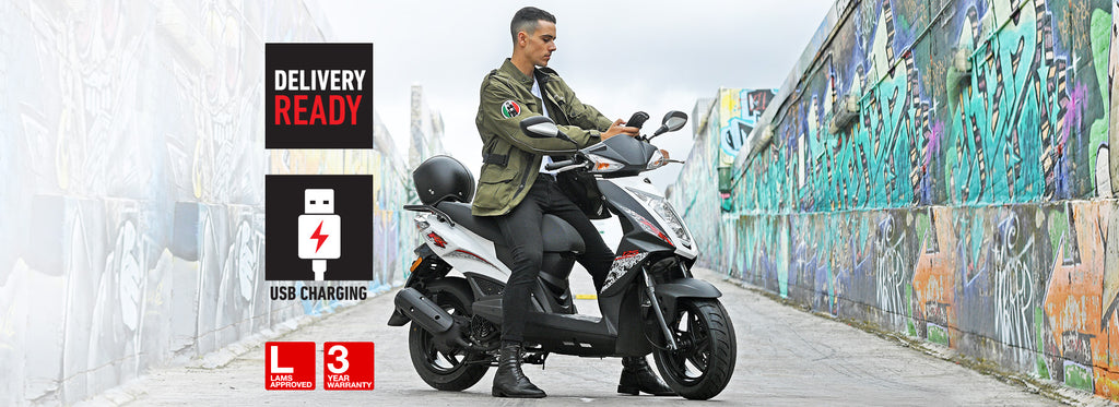 ALL NEW MODEL KYMCO AGILITY RS 125 3 Months Registration. 3 Years Warranty.