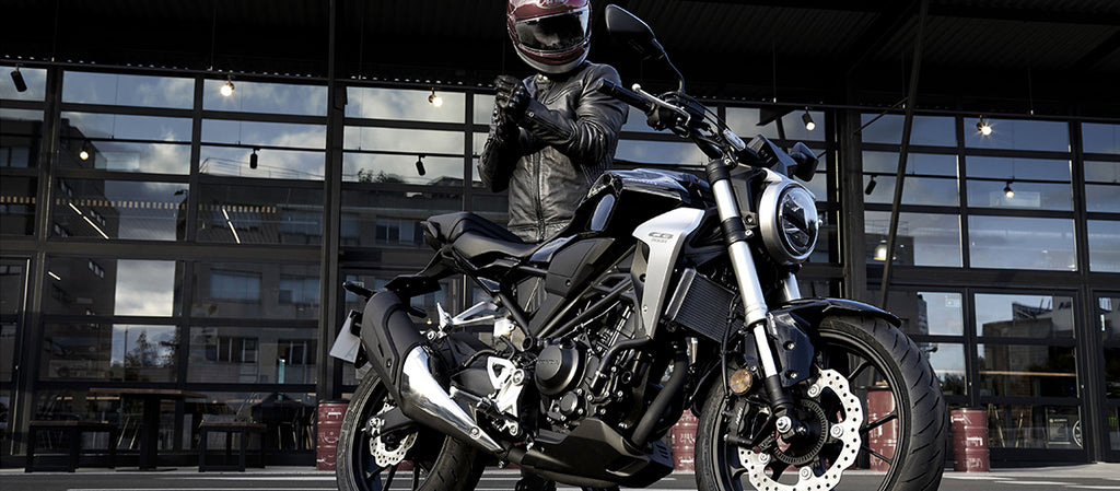 CB300R. Naked Sports. From $38 Per Week *
