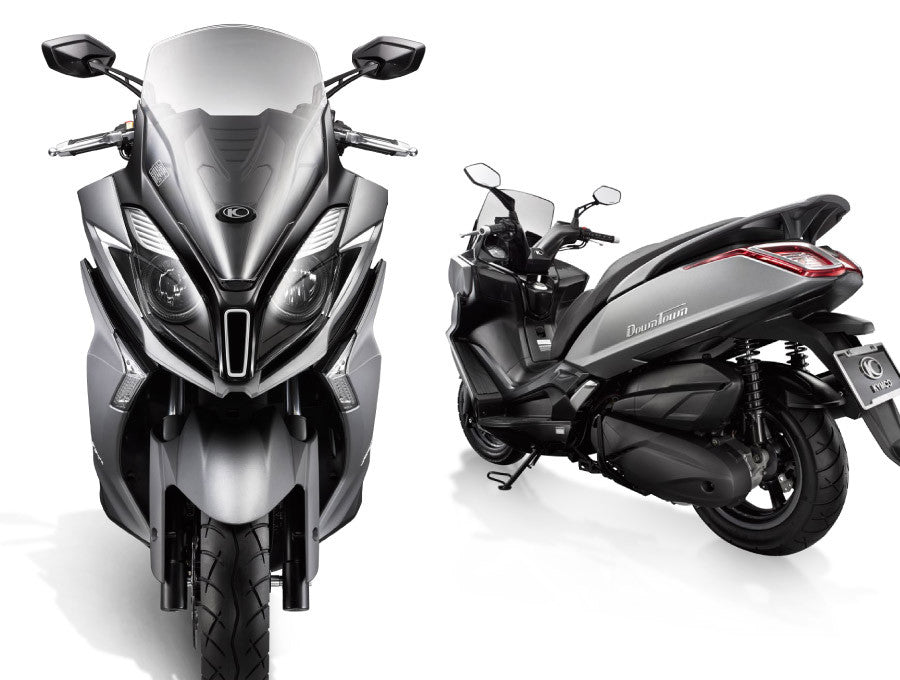 Kymco Downtown 350i ABS. $8490 Ride Away. All New 2021 TCS Model Now In-Stock