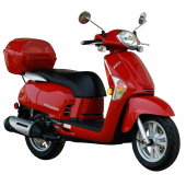 Kymco Like 200i, Fuel Injected. Includes Top Box.
