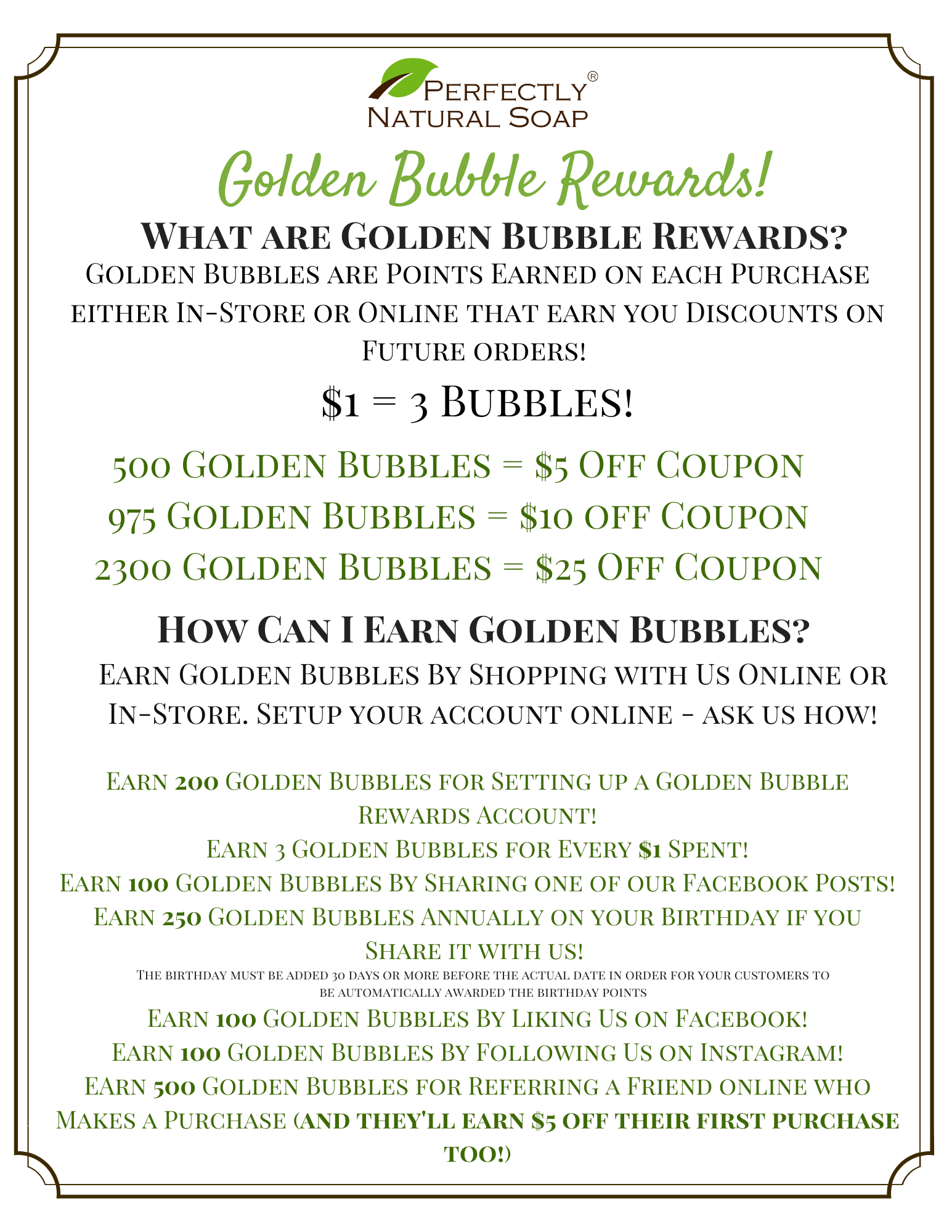 golden bubbles explainer