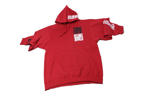 "ETHNIK ""Japan Red"" Hoodie (LIMITED LINE) - ETHNIK LIMITED"