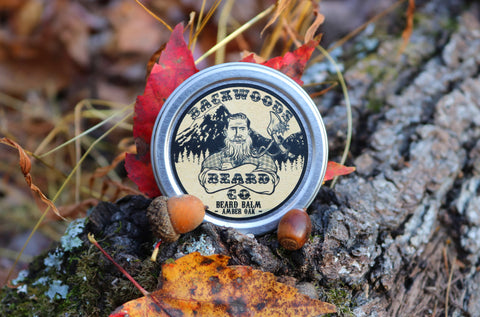 Amber Oak Beard Balm- 2oz.