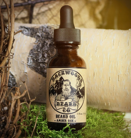 Amber Oak Beard Oil- 1oz