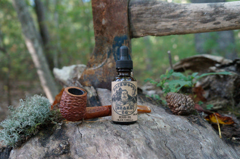 Black Vanilla Beard Oil - 1 oz.