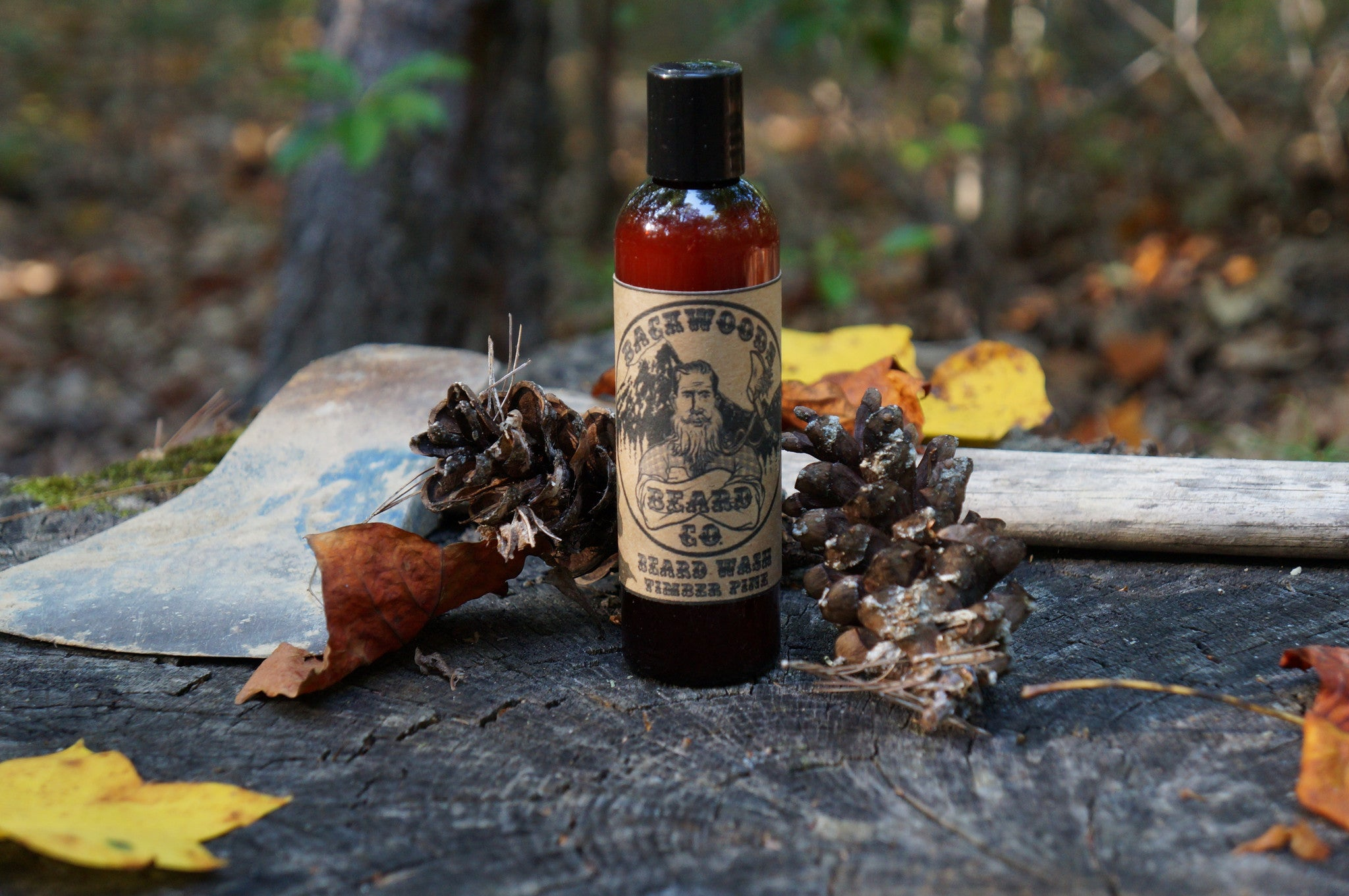 Timber Pine Beard Wash