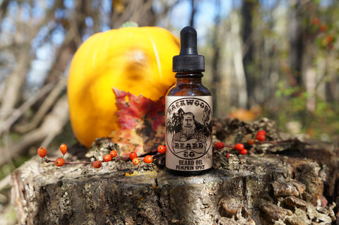 Pumpkin-Spice Beard Oil-1oz.