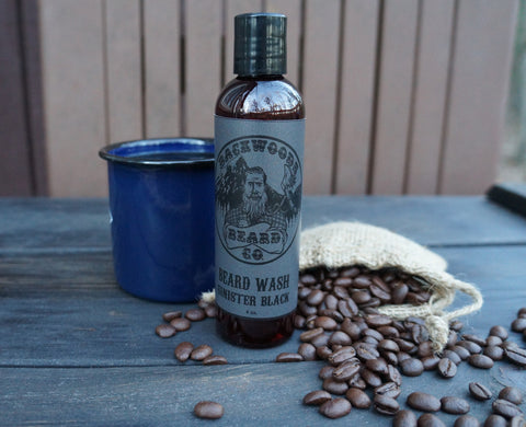 Sinister Black Beard Wash-4oz