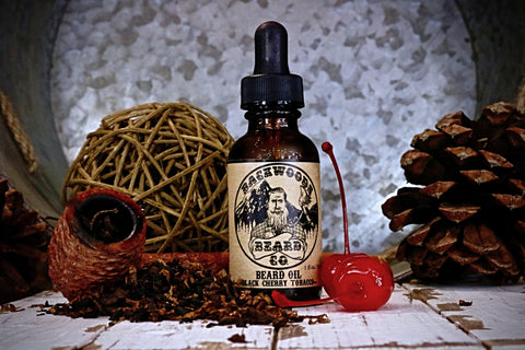 Black Cherry Tobacco Beard Oil- 1oz.