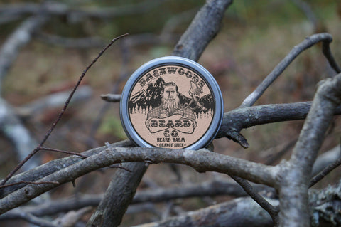 Orange-Spice Beard Balm-2 oz.
