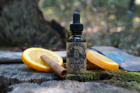 Orange-Spice Beard Oil-1 oz.