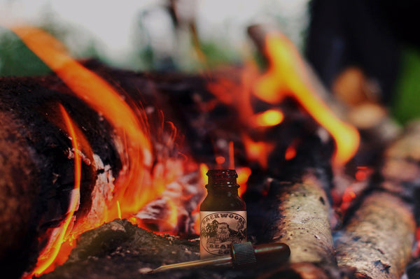 Whiskey Bonfire Beard Oil-1oz