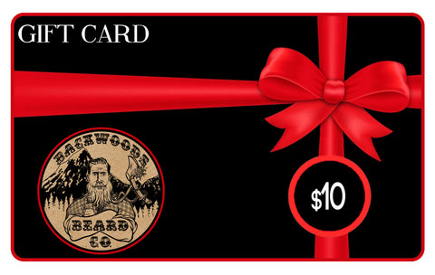 Backwoods Beard Co Gift Card