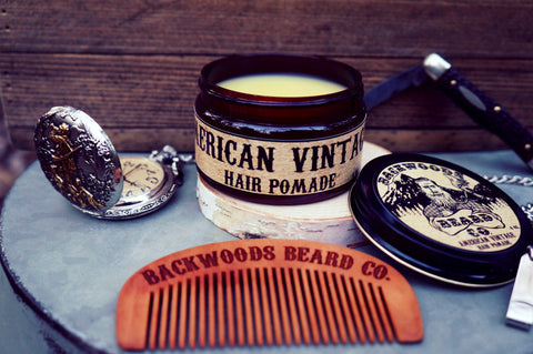 American Vintage Hair Pomade-Medium Hold-4oz.