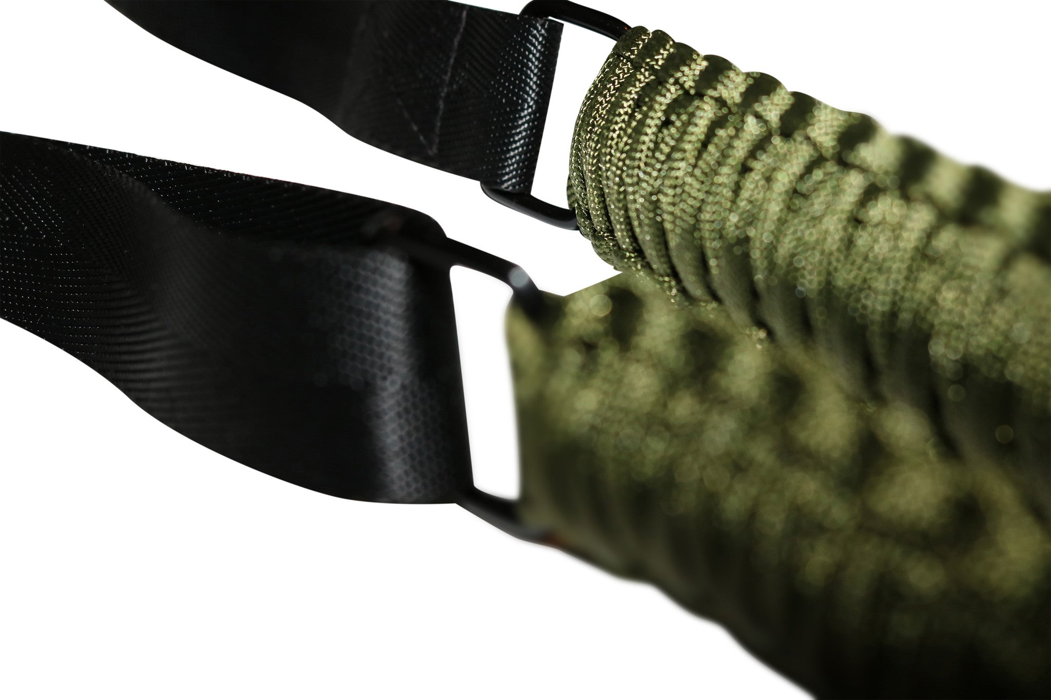 Paracord Gun Sling (Army) New & Improved CLIPS!